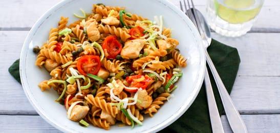 recept pasta met kip