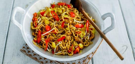 recept met noodles