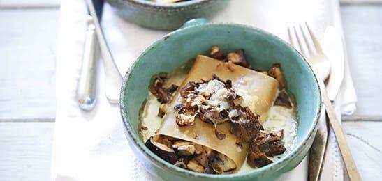 cannelloni maken van lasagnebladen