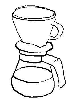 Koffie gezet met een papieren filter: max 4 kopjes per dag